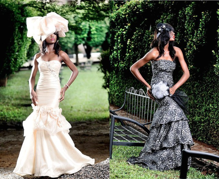 South African Traditional Wedding Dresses Designs 6
