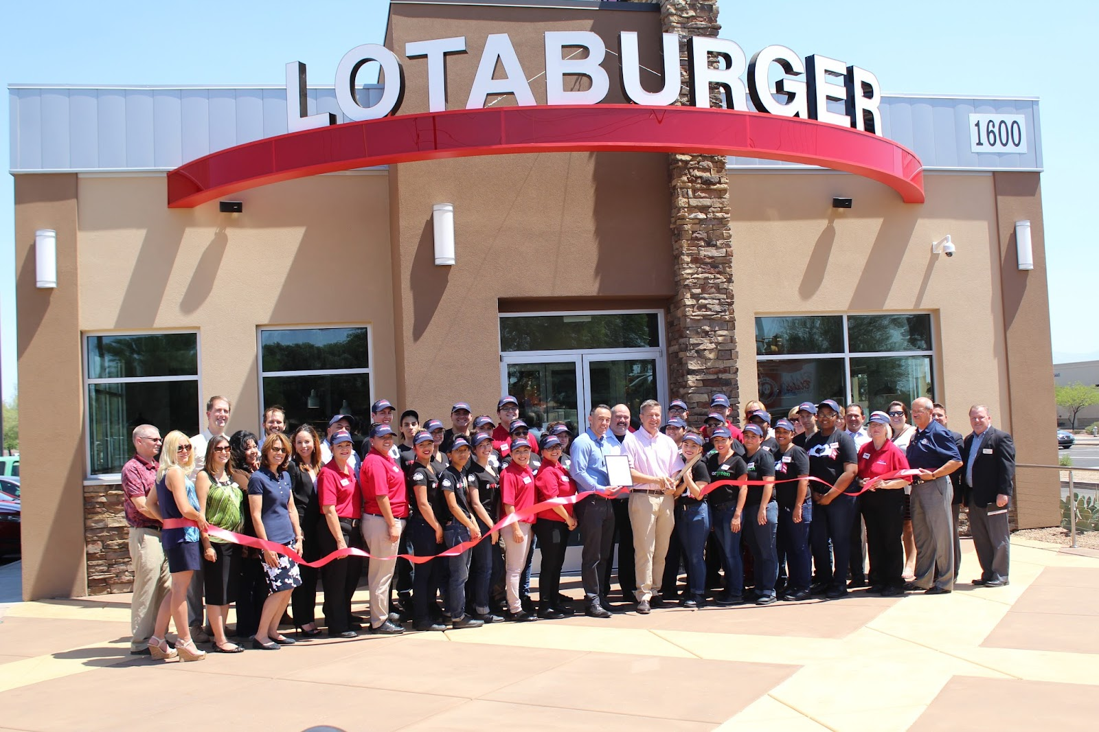 Congratulations to Blake's Lotaburger, located at 1600 W. Valencia Road, on their Grand Opening!  Since its founding in 1952, Blake's Lotaburger now has 75 locations in New Mexico, 3 in El Paso, Texas and 2 in Tucson, Arizona.  Known for our cooked to order burgers and use of hatch green chile, Blake's Lotaburger is thrilled to be a part of the Tucson community.