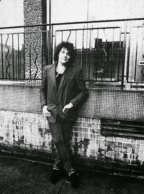 dianno -Foto realizada a finales de los 70 donde podemos ver a Paul Di'Anno antes de formar parte de Maiden.
