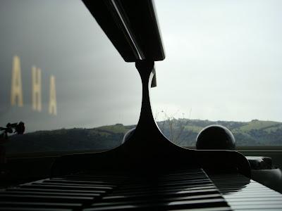 Shiny piano