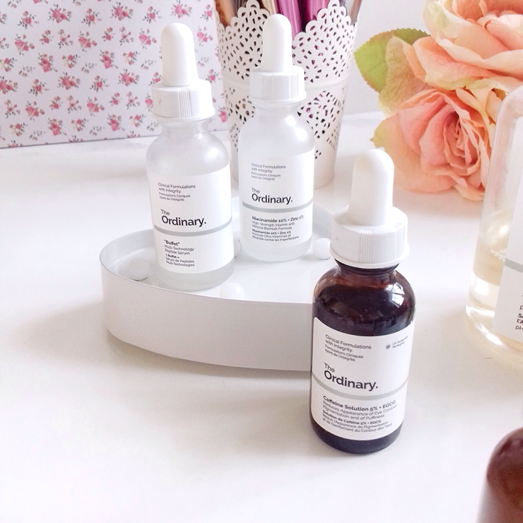 Skin Care Products and Serums From The Ordinary