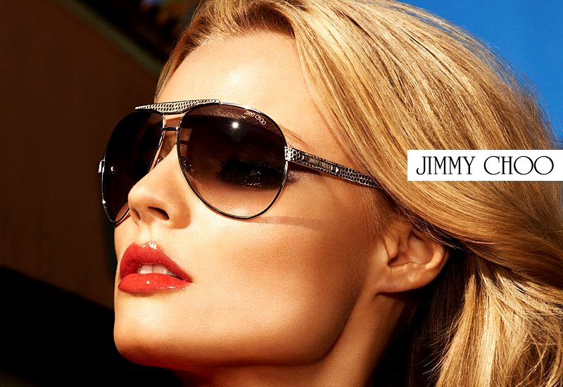 Jimmy Choo Sunglasses Spring Summer 2012 ad campaign