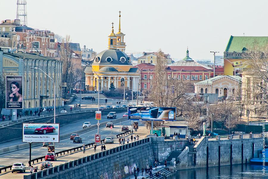 Весна в Киеве