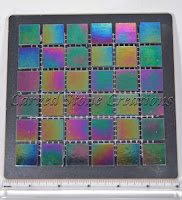 "Twilight Opalescence  3/4x3/4 Glass Mosaic 12"" x 12"" x 4mm"