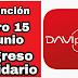 Ingreso  Solidario: Daviplata mejora el marco de consultas del giro 15.
