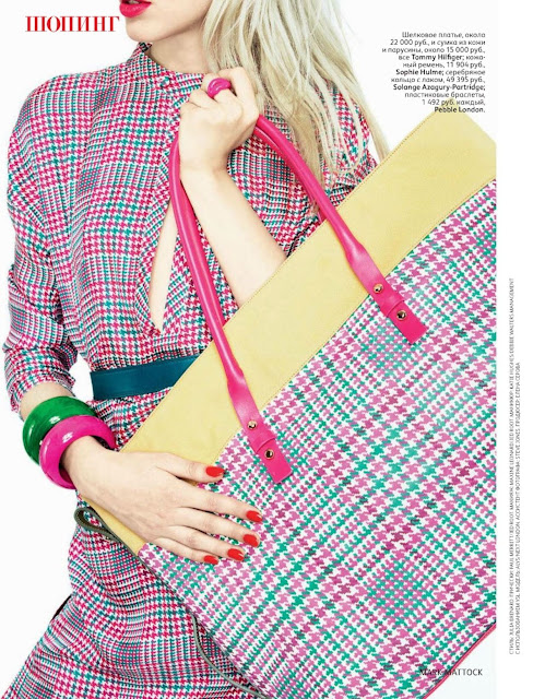 Alys Hale para Vogue Rusia (febrero 2012)