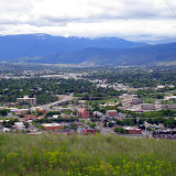 Even on a cloudy day, Waterworks Hill boasts beautiful views of the Missoula valley.