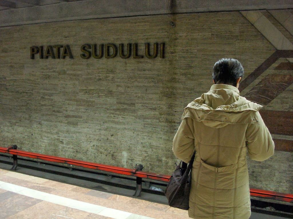 Asteptand metroul