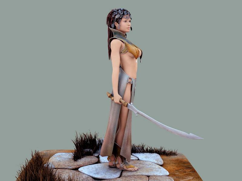 Samurai Sword Of Victory, Warriors