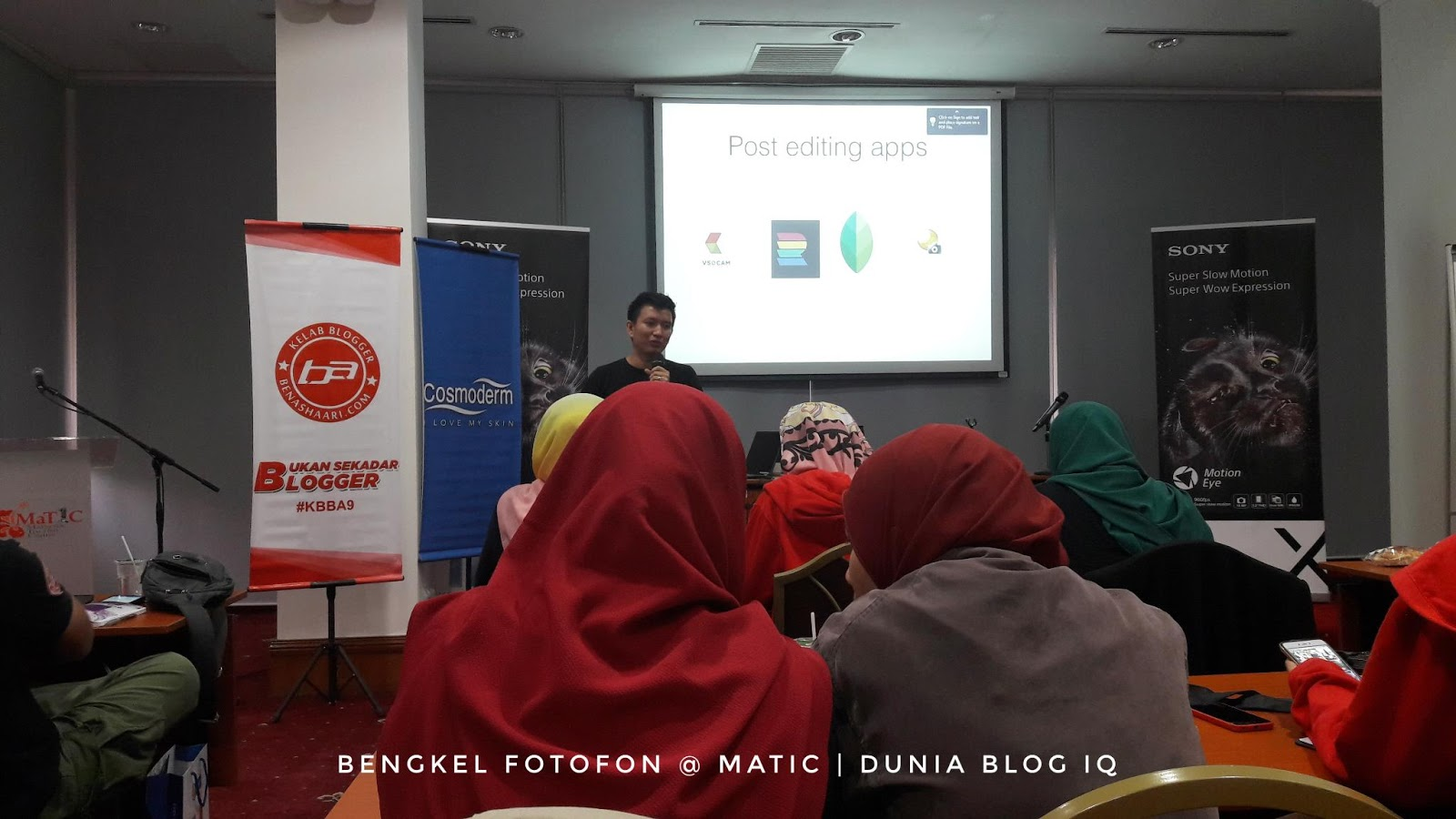 Bengkel Fotofon KBBA9 2018 Berikan Teknik Ambil Gambar Yang Betul