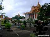 Silver Pagoda i Pnohm Penh.