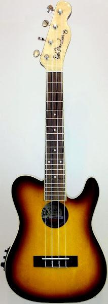 fender 52 telecaster concert ukulele