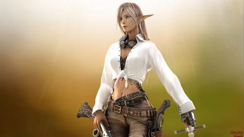 Elven Pirat, Elven Girls
