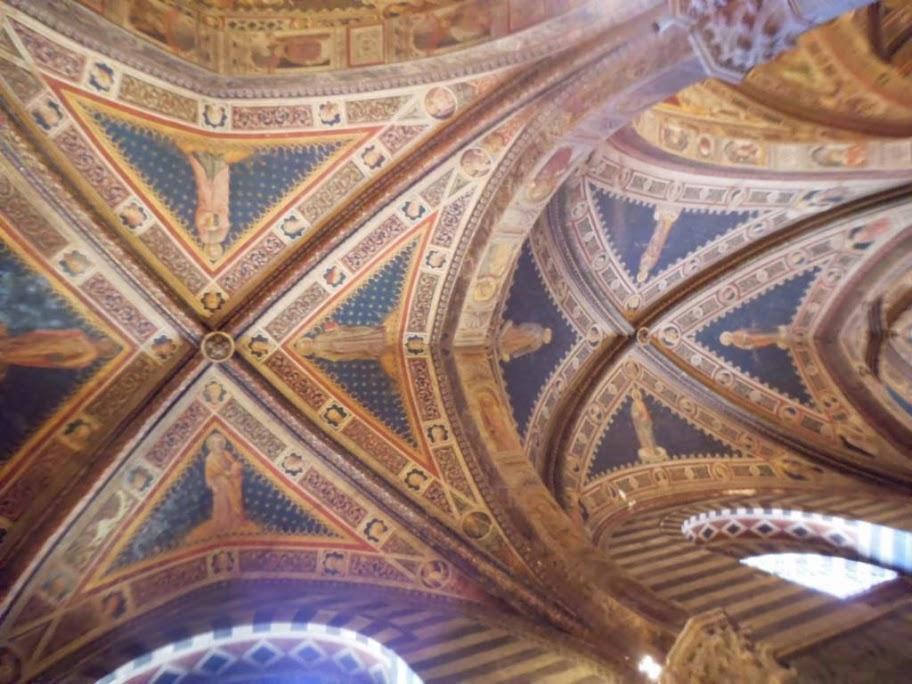 Frescos del Battistero di San Giovanni