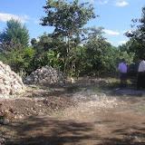 Preparing the church property in Tunkas