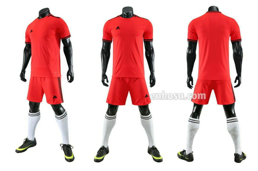 Jual Jersey Futsal Adidas Variasi Merah