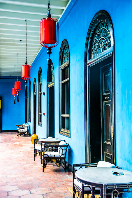 Penang Cheong Fatt Tze Mansion (Blue Mansion) hallway4