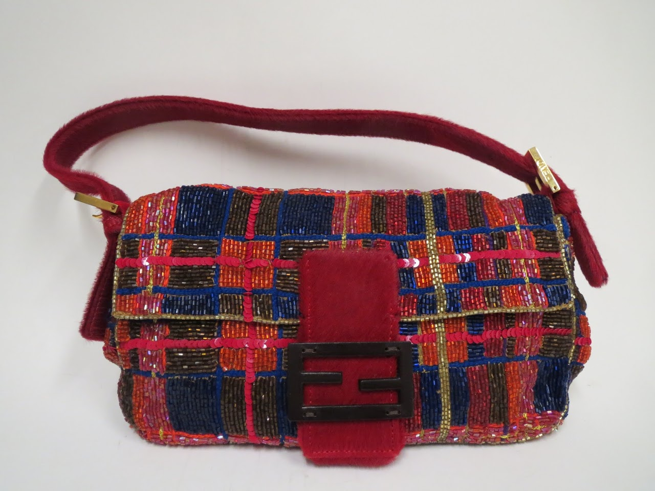 Fendi Beaded Evening Bag