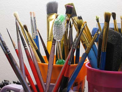 Warhammer 40k paintbrushes