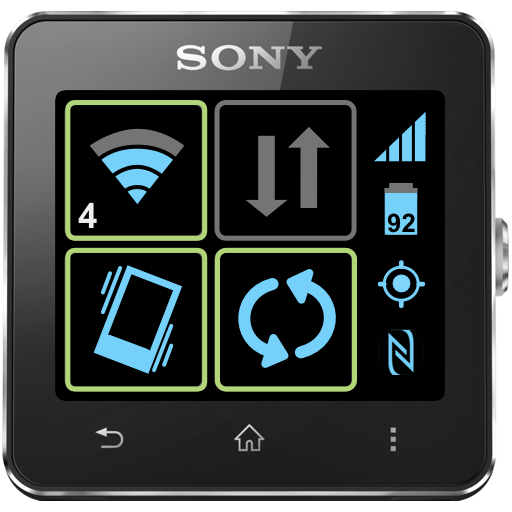 Toggles for SmartWatch Icon