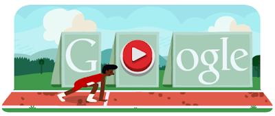 Google Doodle Hürdenlauf