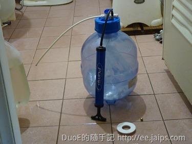 RO壓力桶加壓打氣