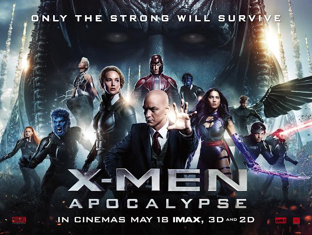X-Men: Απόκαλιψ (X-Men: Apocalypse) Wallpaper