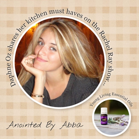 Young Living lavender wins Daphne Oz's heart!