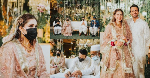 Actor Usman Mukhtar tied the Knot with Zunaira Inam Khan
