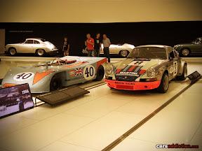Porsche 908/03 and 911 RSR Martini
