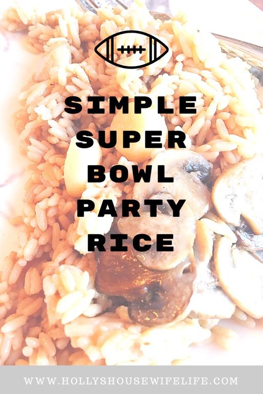 super bowl, super bowl rice, super bowl foods, super bowl Sunday
