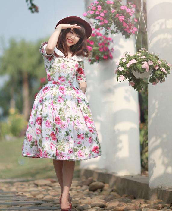 Stylist Hang Keo dang yeu nhu cong chua co tich