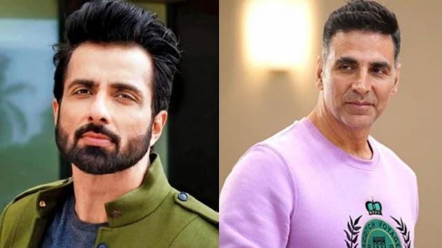 सोनू सूद पर बनेगी फिल्म, अक्षय कुमार निभाएंगे उनका किरदार..