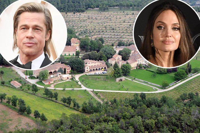 Angelina Jolie accused of 'using devious means to cut' ex-husband, Brad Pitt out of a lucrative deal over their $164 million French estate