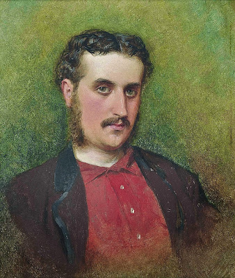 George Elgar Hicks - Self portrait(1862).