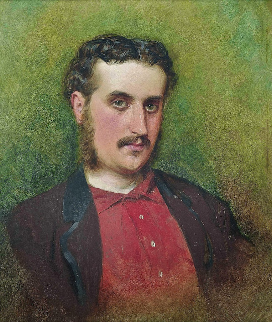 George Elgar Hicks - Self portrait(1862).