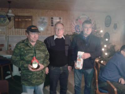 v. l.: Hans Kubisch, Otto Plünzig und Roland Behrnd