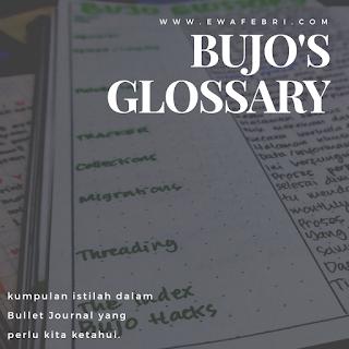 11 bujo glosary