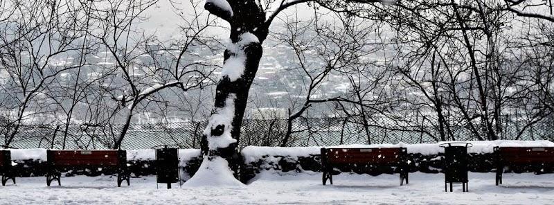 Manzara'da Kar - Şubat 2012 © Melek Meriç Ertör