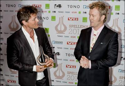 A-ha recebe prêmio honorário no Spellemann Awards 1299359852100_353