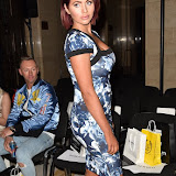 OIC - ENTSIMAGES.COM - Amy Childs at the  LFW a/w 2016: Barrus - catwalk show London 19th February 2016 Photo Mobis Photos/OIC 0203 174 1069