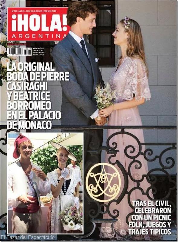 Viviana canosa y su hija en revista hola argentina 2015 for Revistas del espectaculo