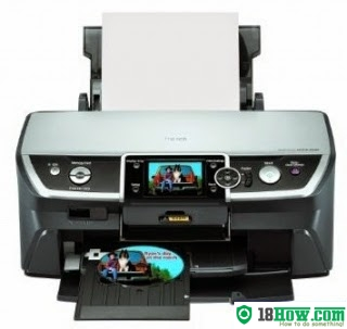 How to reset flashing lights for Epson R380 printer