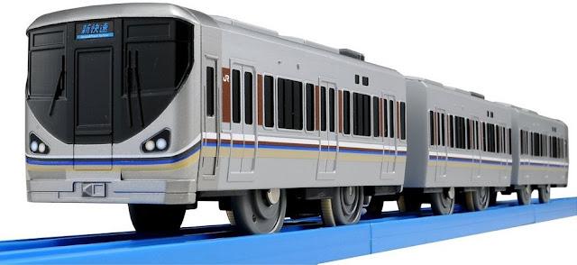Bộ Tàu hỏa có âm thanh S-42 Series 225 Special Rapid Service mô phỏng giống với thực tế