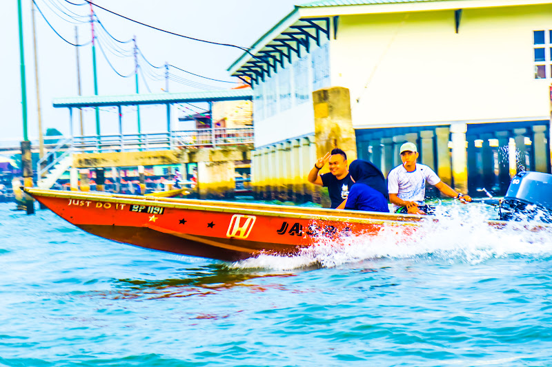 ブルネイ 水上タクシー3