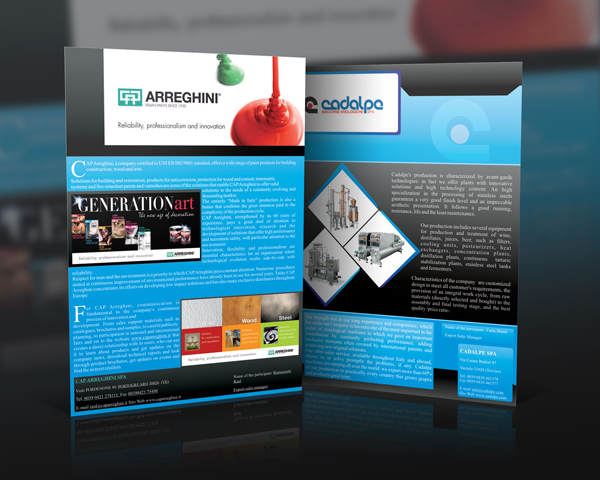 paint and machinery equipment brochure