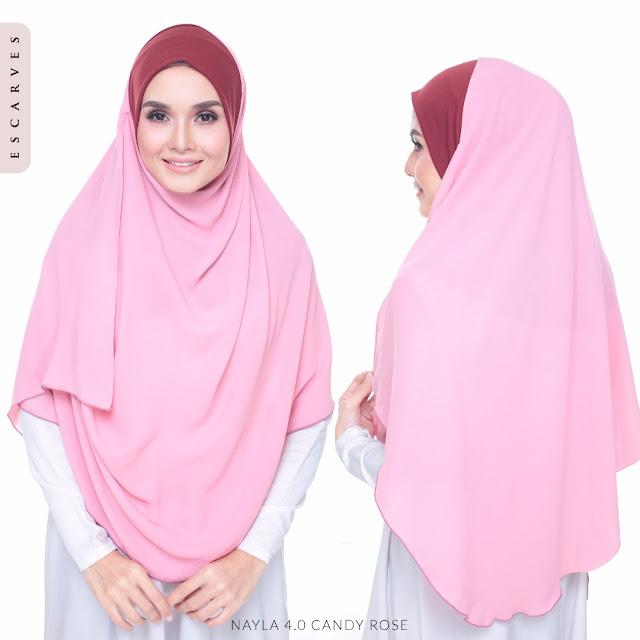 tudung shawl terbaru