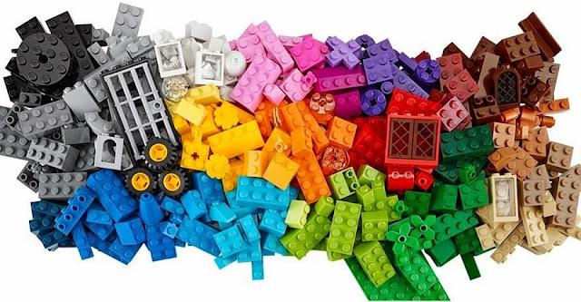 Lego Classic 10698 Thùng gạch lớn sáng tạo Large Creative Brick Box bao gồm 790 viên gạch