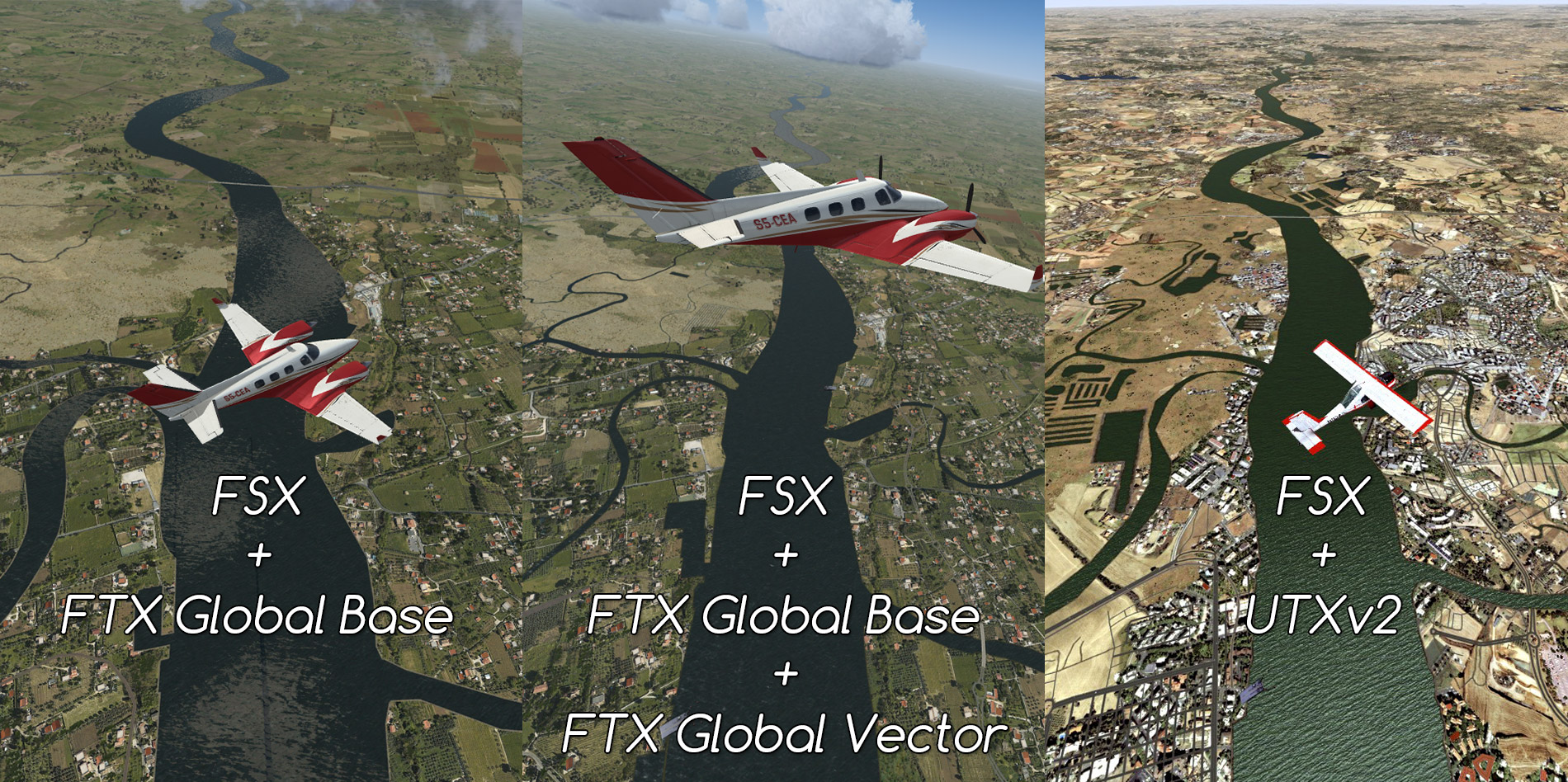 FTX Global Vector - ORBX - review (5*) • C-Aviation