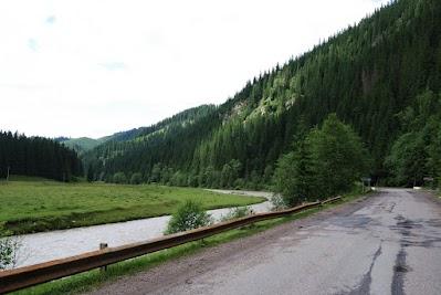 Im Tal des Flusses Bistrita Aurie